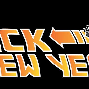 Back to the New Year (Back to the Future) Color by GreenHRNET