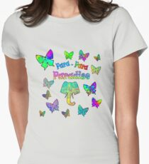 Para-Para-Paradise Women's Fitted T-Shirt
