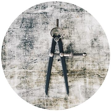 Vintage Architecture Compass by TeeVision