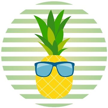 Cool Pineapple by TeeVision