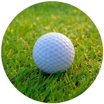 Golf Ball On Grass by TeeVision
