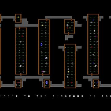 Rogue (1983 DOS version) by philstrahl