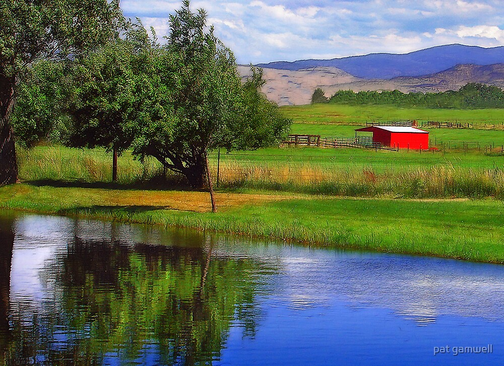 Nevada Farmlands by pat gamwell