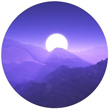 Mountain Moon by TeeVision