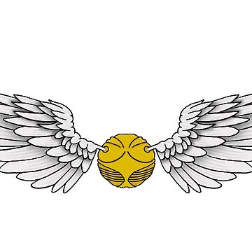 Golden Snitch by Stickers-By-Sam