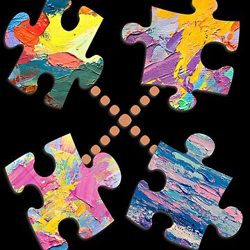 Puzzle Piece of Mind by uapparel