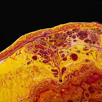 Fluid Acrylic Painting -  Lava by ilzesgimene