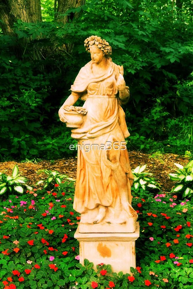 garden Statue by enigma365