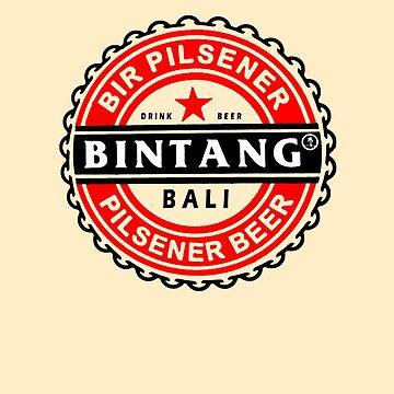 Bali Bintang Beer Souvenir by closeddoor