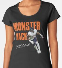 Khalil Mack Chicago Bears Monster of the Midway  Women's Premium T-Shirt