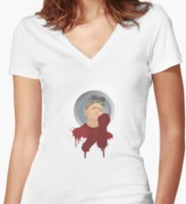 Dr. Horrible Women's Fitted V-Neck T-Shirt