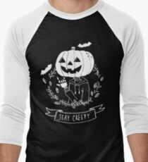 Stay Creepy! Men's Baseball ¾ T-Shirt