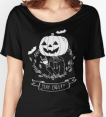 Stay Creepy! Women's Relaxed Fit T-Shirt