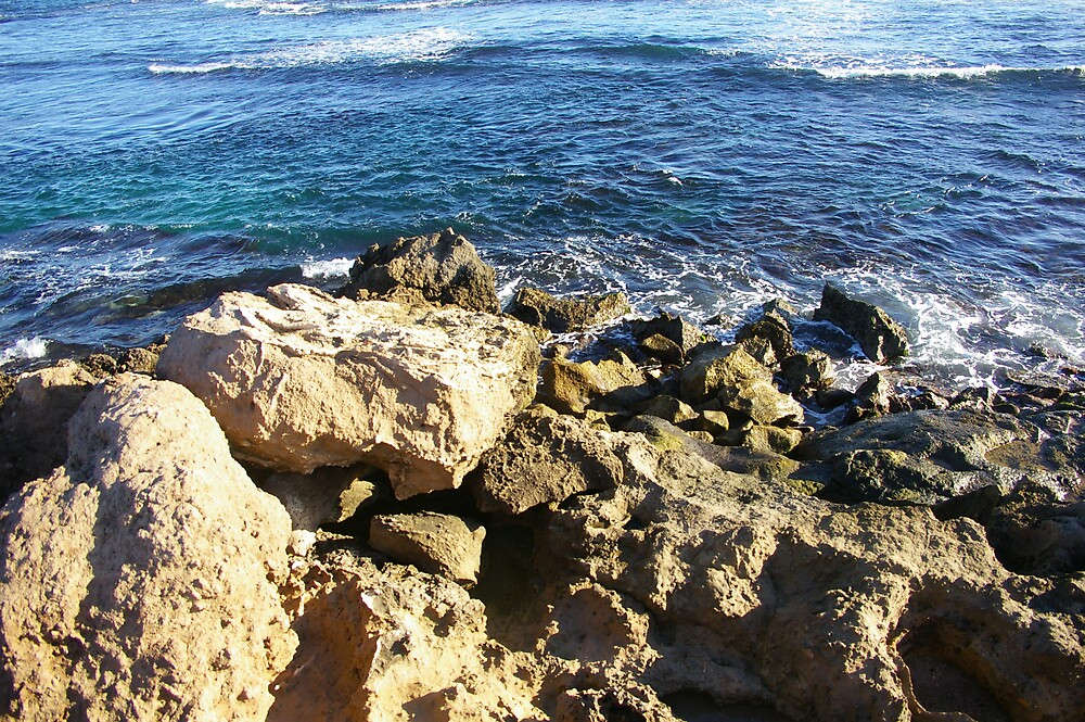 Water Rocks by Amanda Hunt