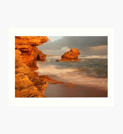 Point Lonsdale Rocks Art Print