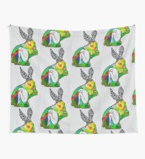 Rabbit's Hive Wall Tapestry