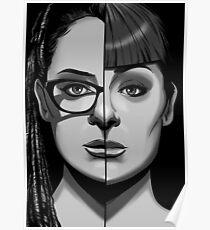 ORPHAN BLACK - Cosima Vs Alison Poster