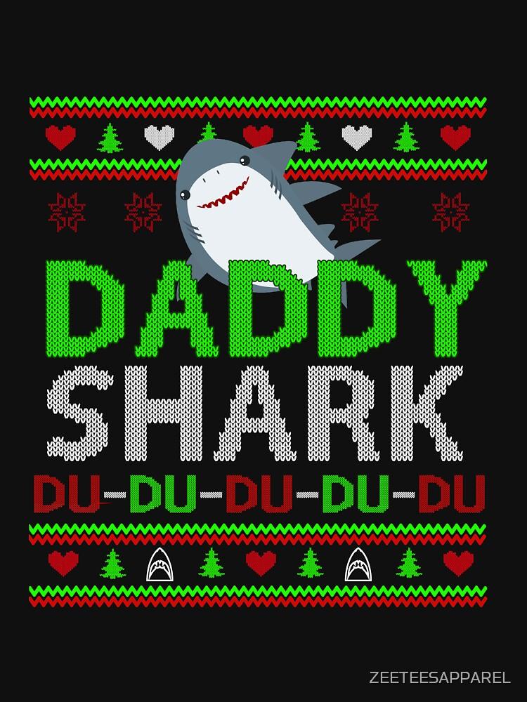 daddy shark by ZEETEESAPPAREL