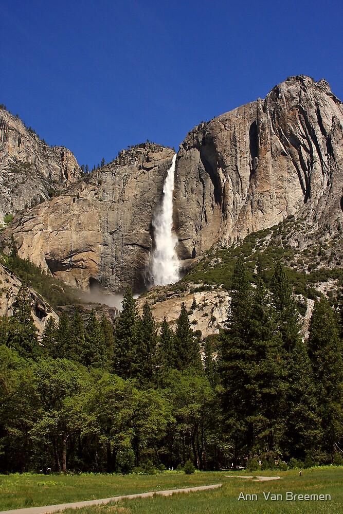 Yosemite Falls by Ann  Van Breemen