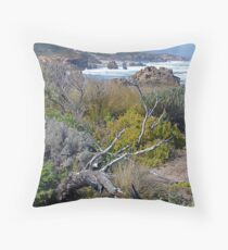 Backbeach Vista Throw Pillow