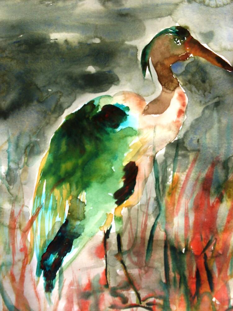 Heron by Christopher  Raggatt
