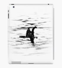 Bigfoot and the Loch Ness Monster team-up confirmed? iPad Case/Skin
