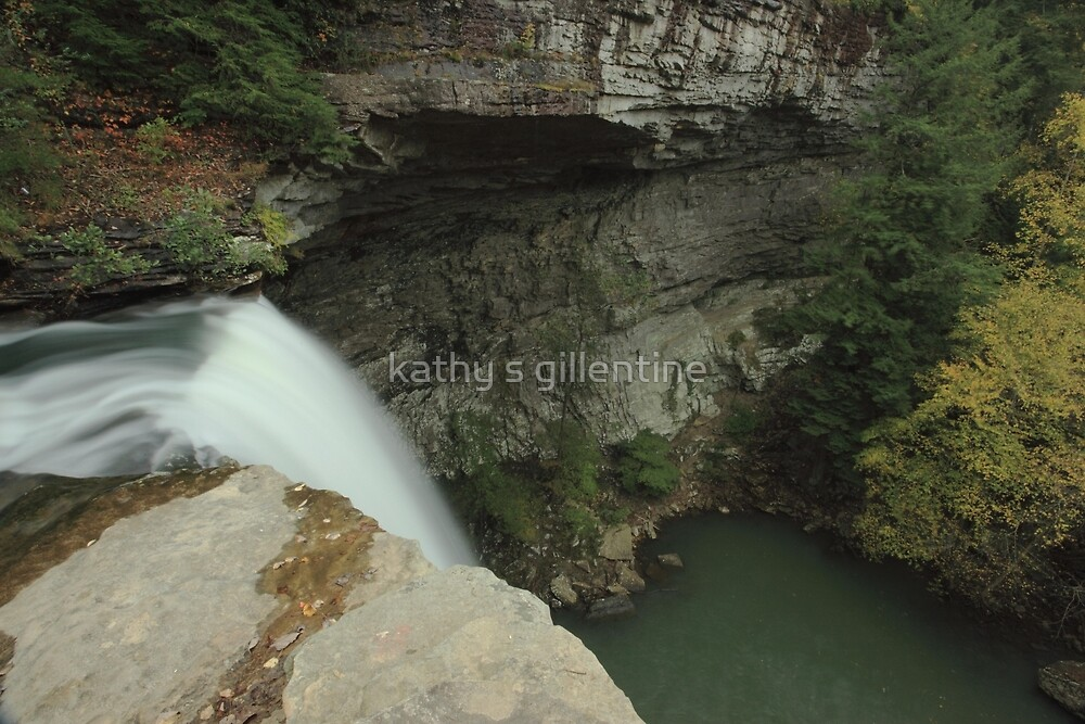 Over the edge by kathy s gillentine