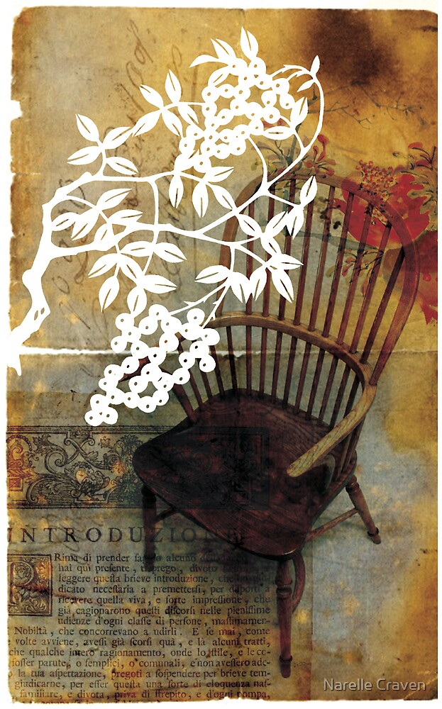 Timber Chair by Narelle Craven
