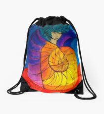 Nautilus Muse Drawstring Bag