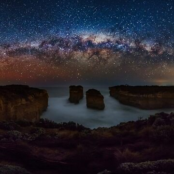 Loch Ard Gorge Milky Way by hangingpixels