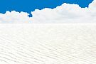 WHITE SANDS, WHITE CLOUDS, BLUE SKY AND ATOM BOMBS by Thomas Barker-Detwiler
