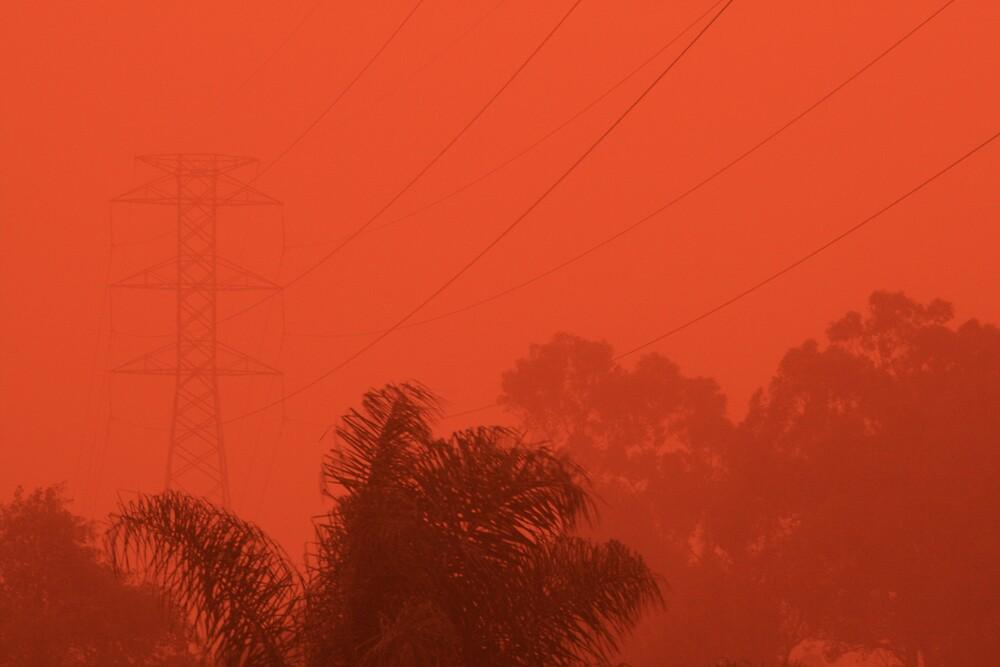 Dust Storm by Kezzarama