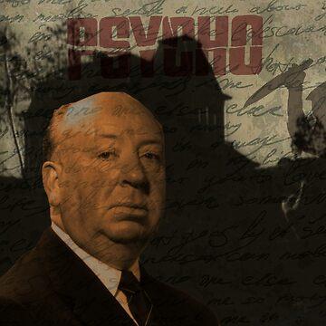 Alfred Hitchcock - Psycho  by ValentinaHramov