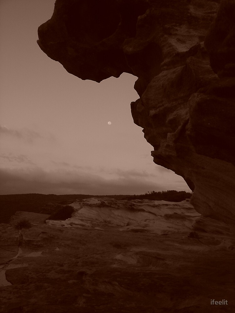 moon rise by ifeelit