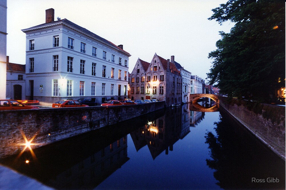 Bruges Canal by Ross Gibb