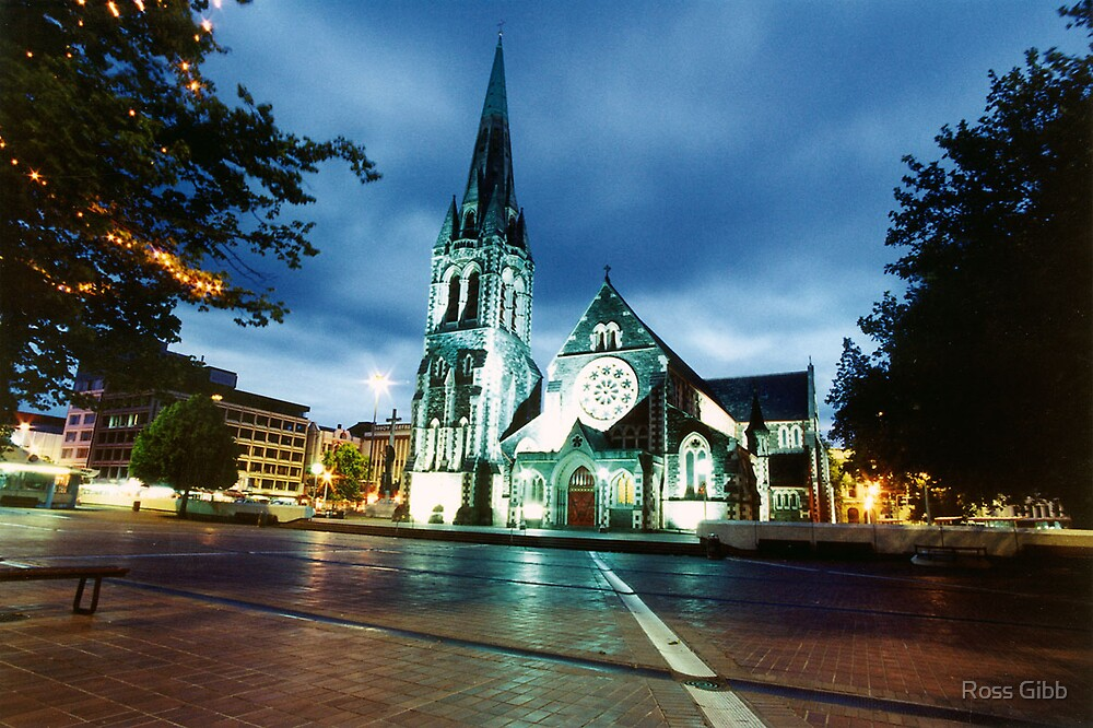The Mall at Christchurch NZ by Ross Gibb