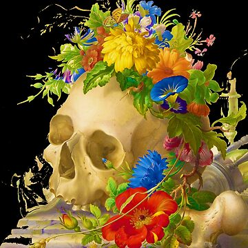 Rubino Skull Flower by RubinoCreative