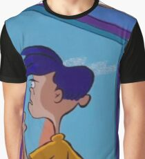 Rolf Stares Out A Window Graphic T-Shirt
