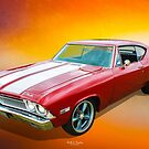 350 Chevelle by Keith Hawley