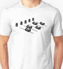 music mixer Unisex T-Shirt