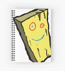 Plank Spiral Notebook