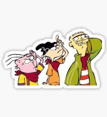 Ed Edd and Eddy Sticker
