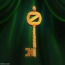 Return to Oz Emerald City Key by Elemantis