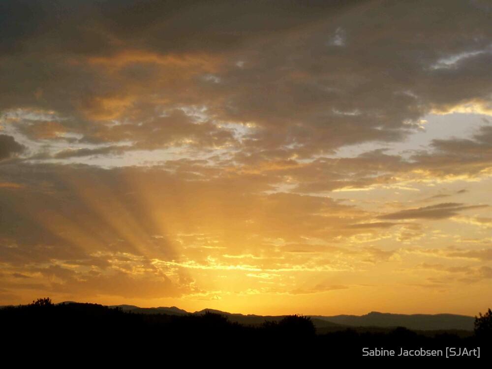 Rays of Light by Sabine Jacobsen [SJArt]