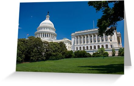 U.S. Capitol Building by kathy s gillentine