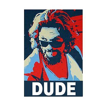 The Dude big lebowski cult film shirt by SOpunk