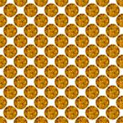 Decorative pattern with circles by starchim01