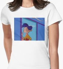 Rolf Stares Out A Window Women's Fitted T-Shirt