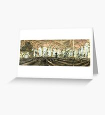 Derby Cathedral Drawing Greeting Card