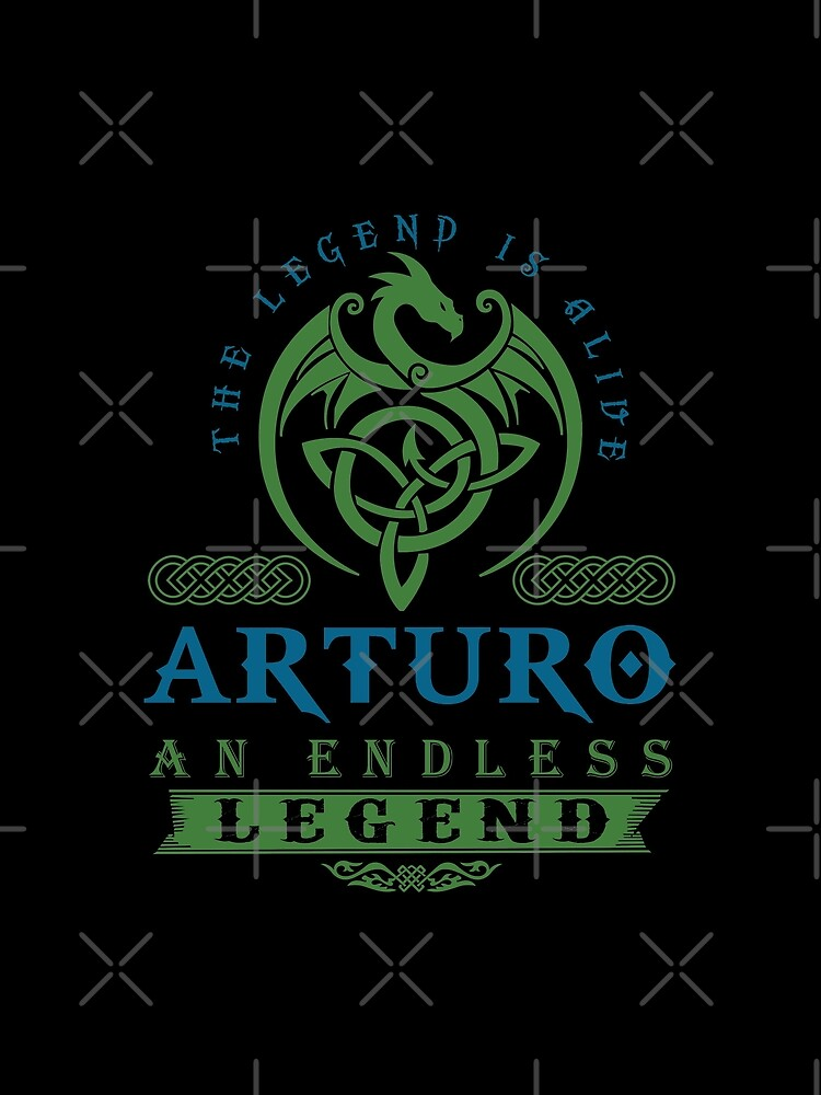 Legend T-shirt - Legend Shirt - Legend Tee - ARTURO An Endless Legend by wantneedlove